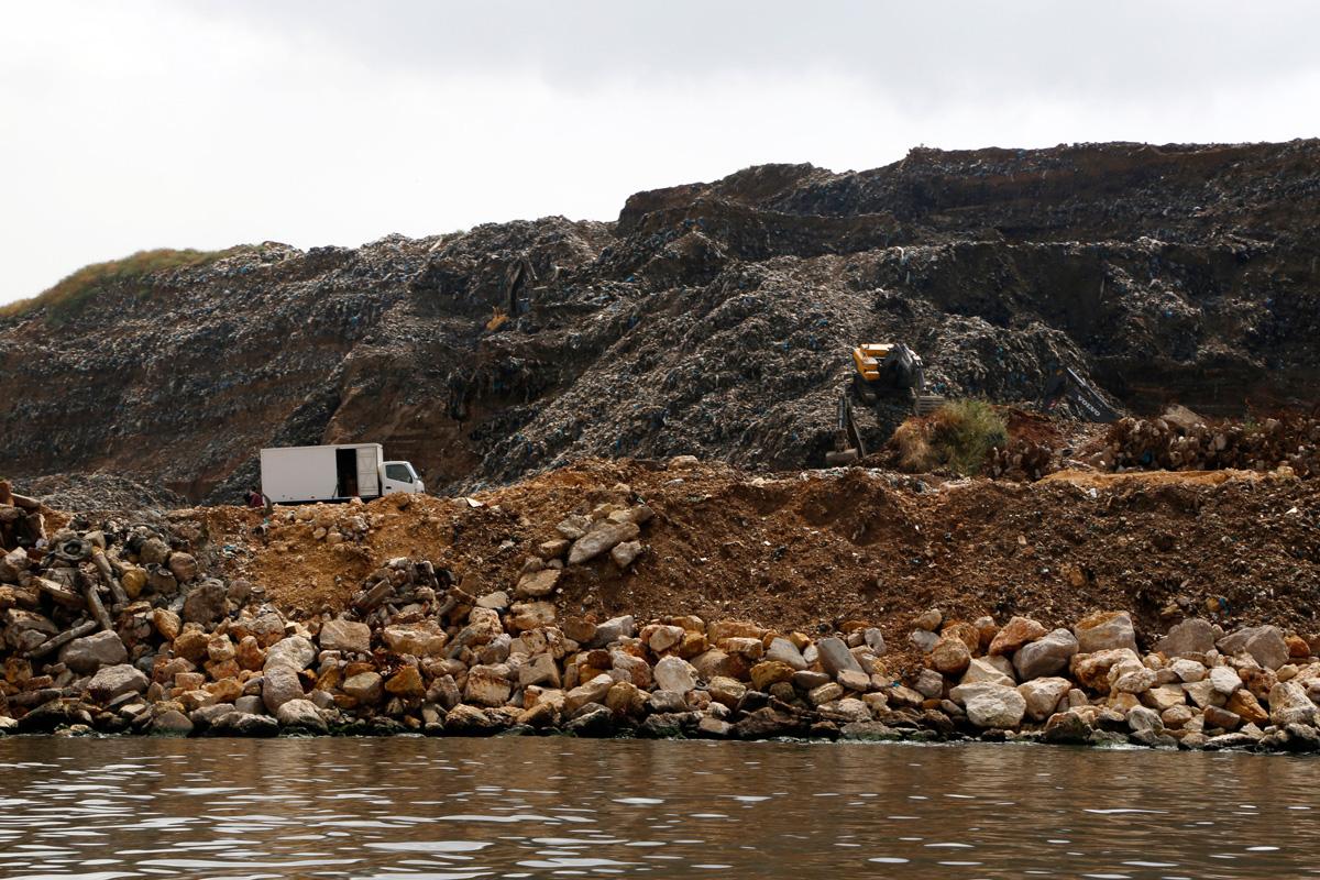 The Bourj Hammoud landfill was established as an informal dump site during the civil war.
