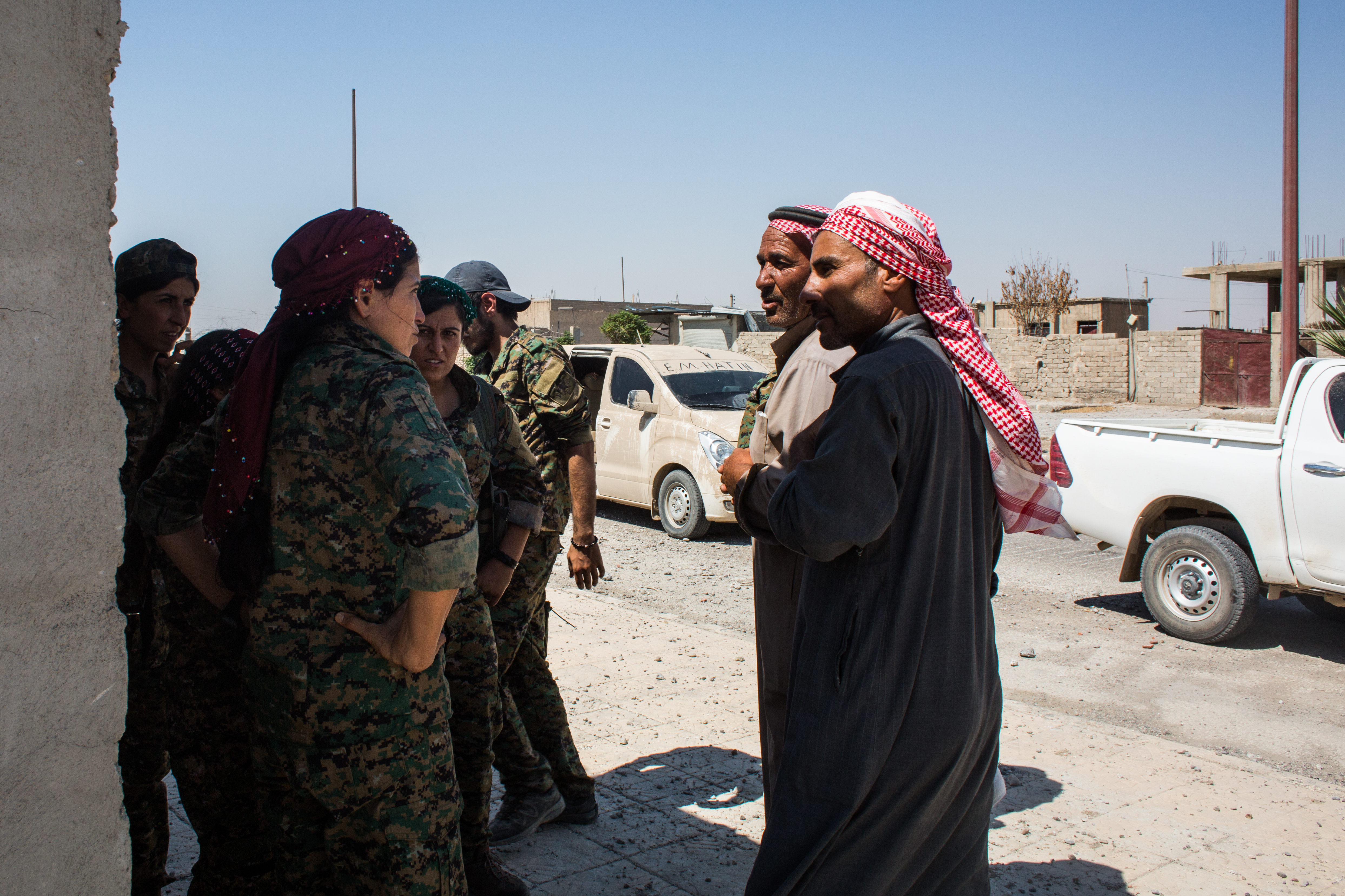 In Rojava men and women are on an equal footing.