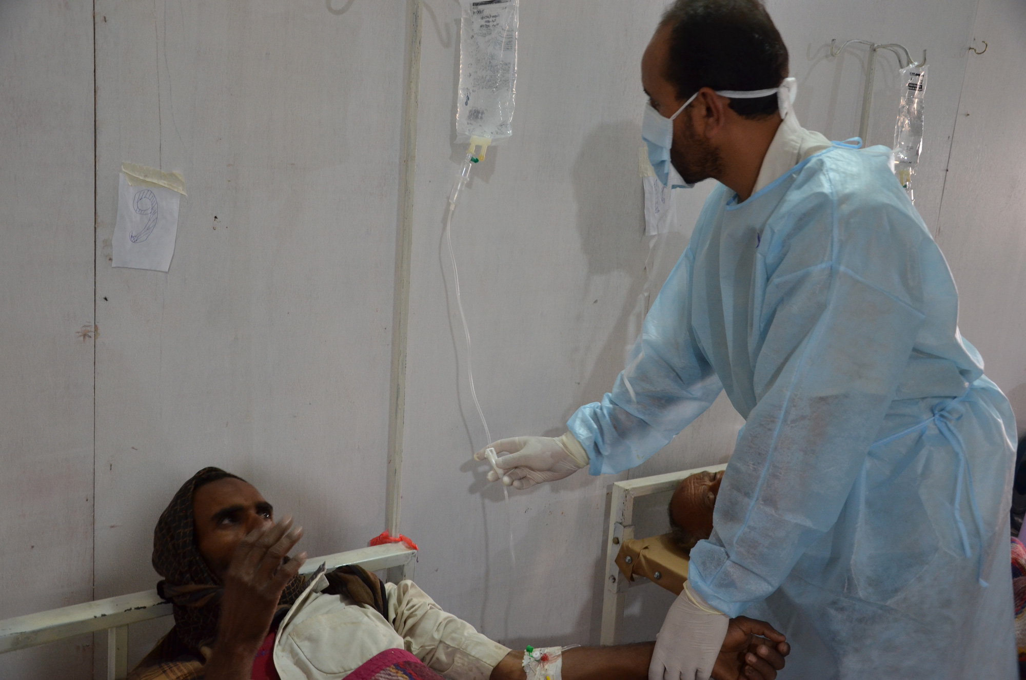 The Khamer MSF cholera treatment centre has alone treated more than 1,200 patients in less than two weeks during May.