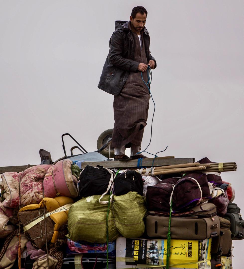 Egyptian labourers in Libya