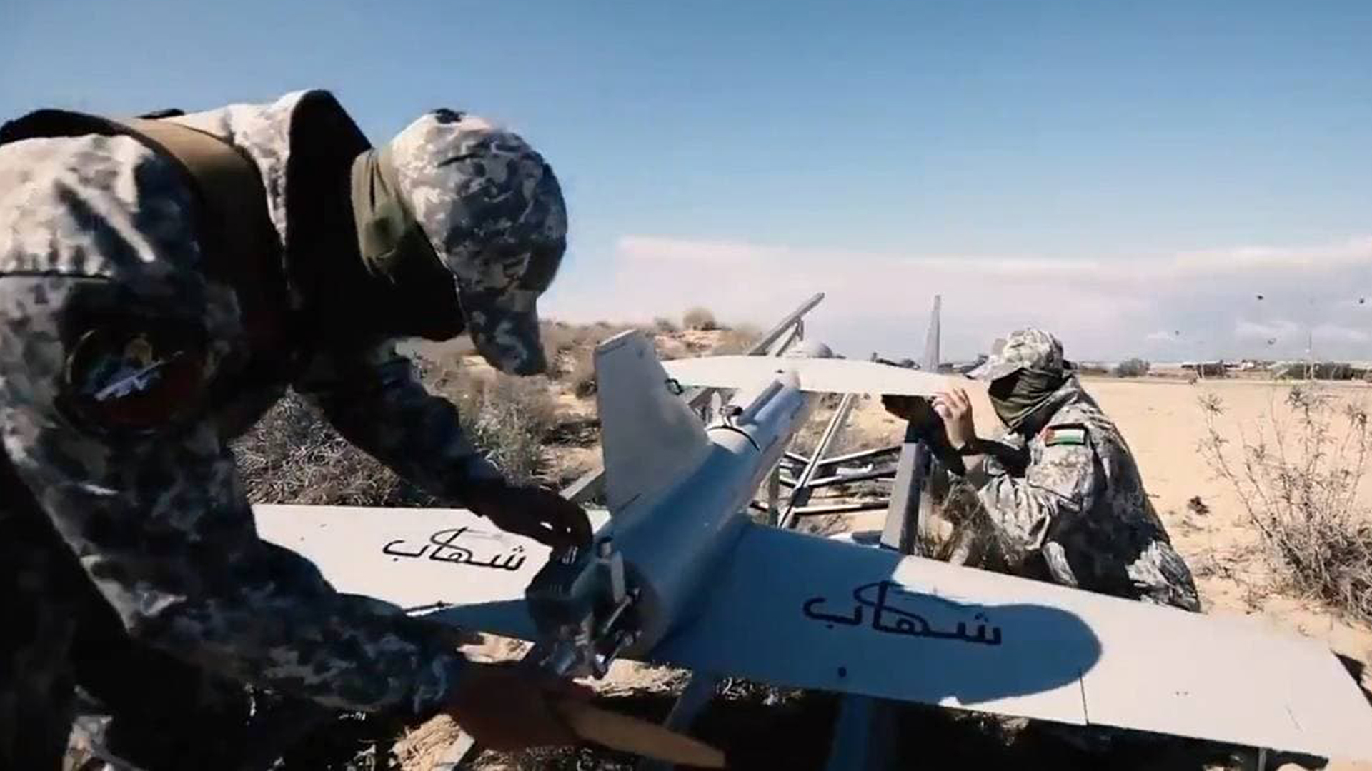 Drones and the War between Israel and the Hamas