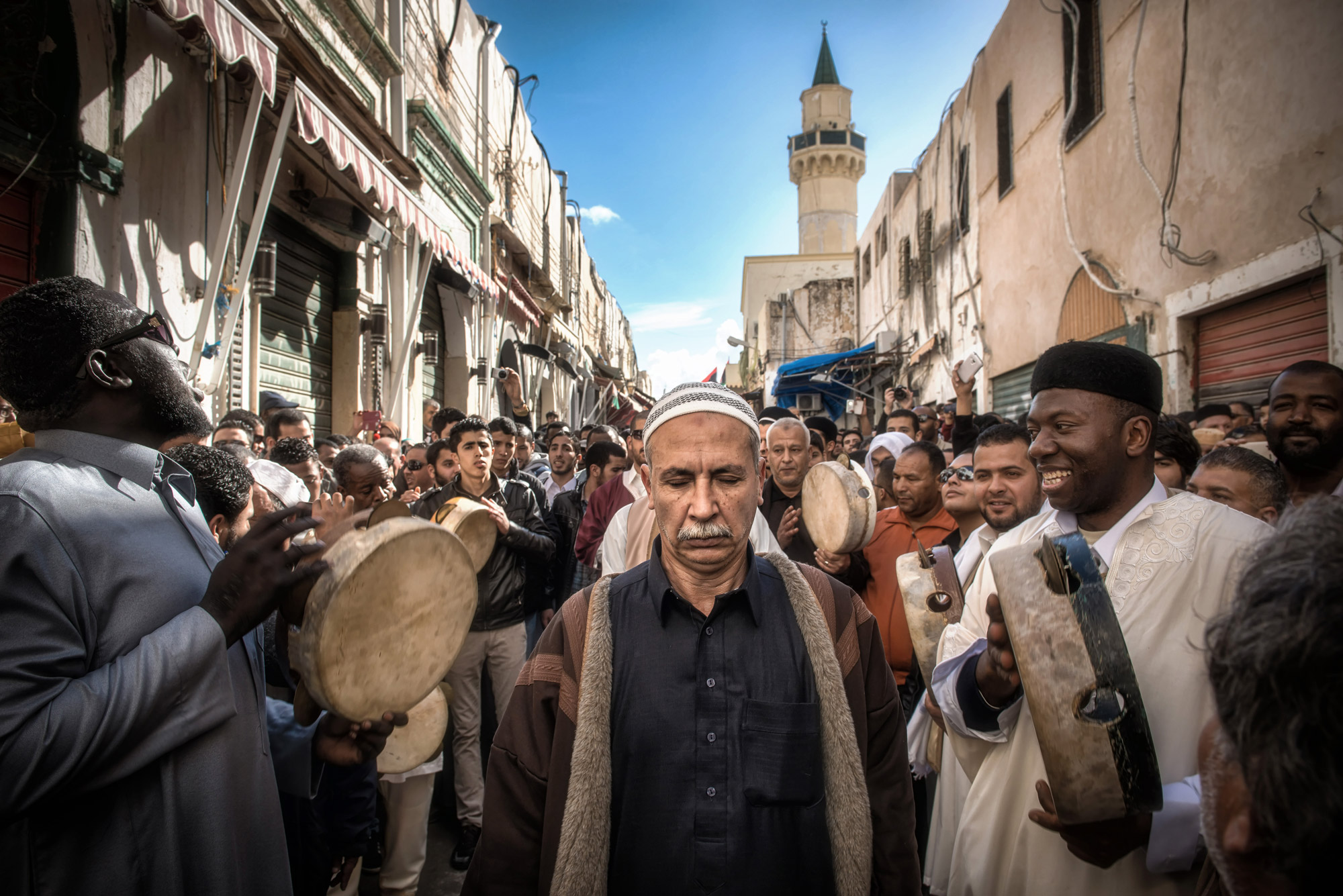In Libya, Sufism was prominent during the Ottoman and Italian colonial era.