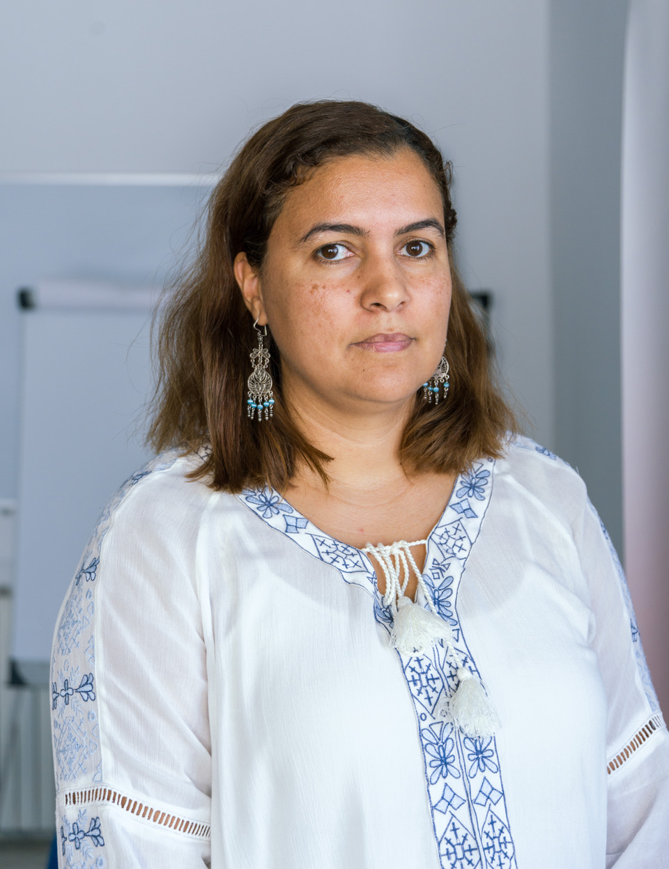 Salwa El Gantri is the head of the Tunisian office of the International Center for Transitional Justice
