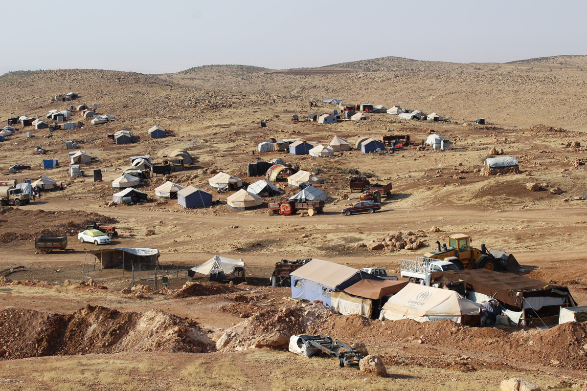 After ISIS invaded Sinjar in 2014, most Yazidis fled the area, and have yet to return. Around 8,000 chose to stay in a ramshackle camp atop Mount Sinjar.