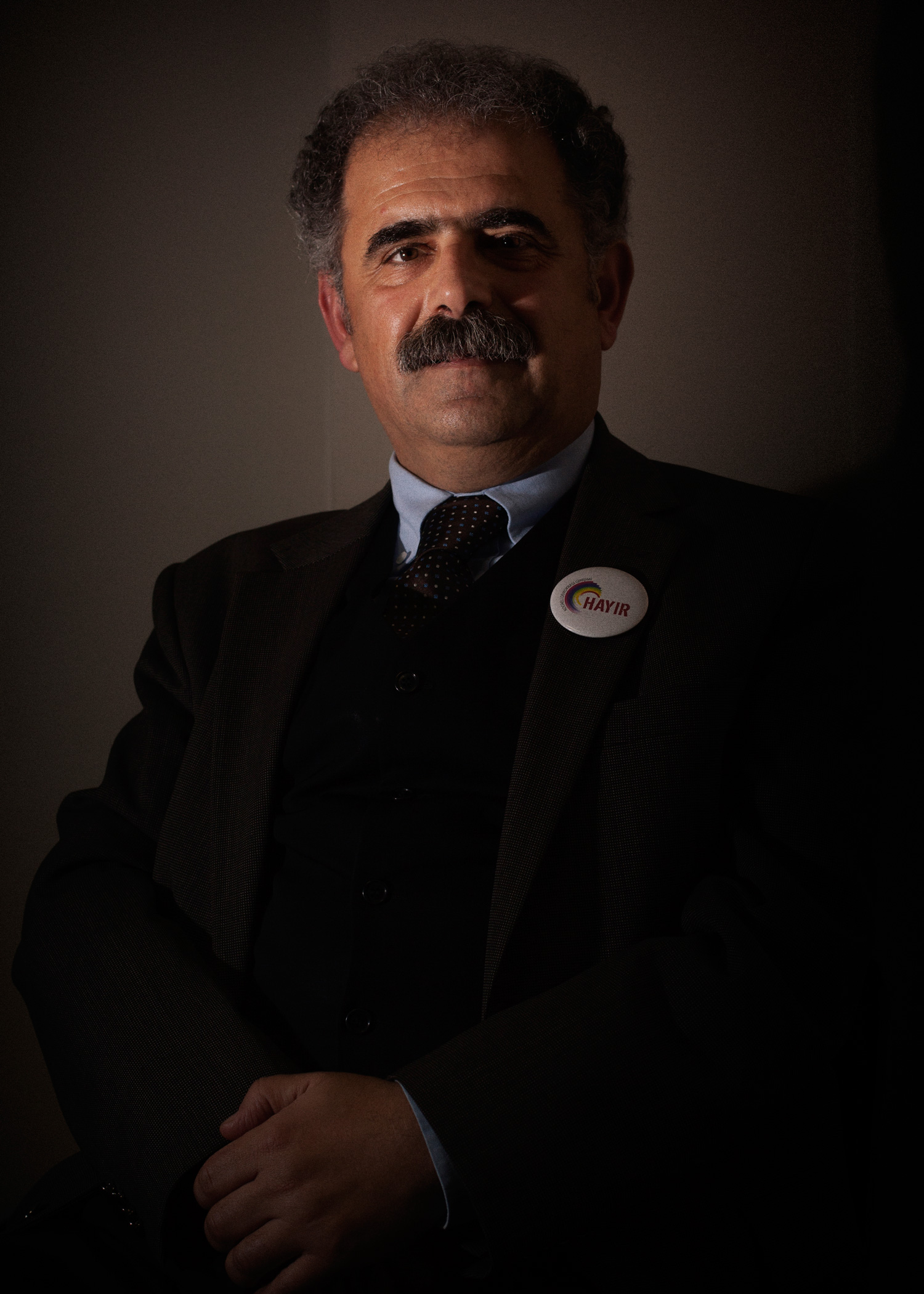 Onur Hamzaoglu was one of those dismissed from his university position as a professor after signing a petition calling for peace.