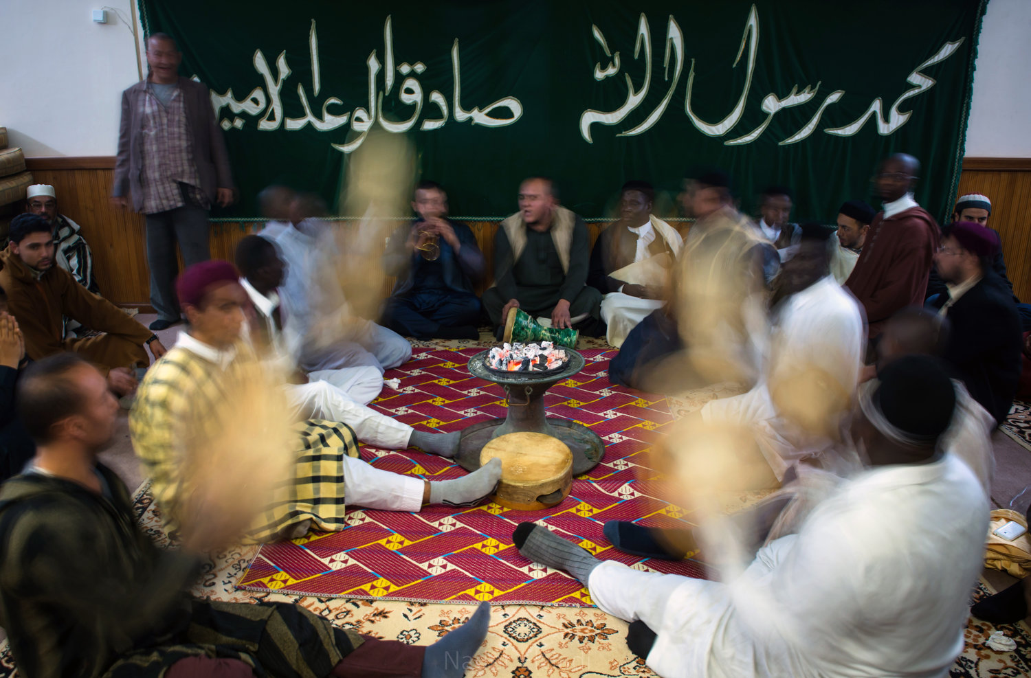 Adherents to Sufism incorporate music and other activities in their worship.
